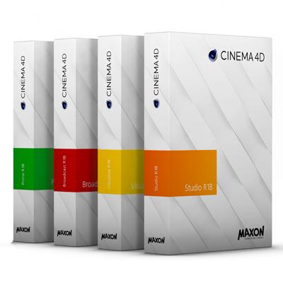 Maxon Cinema 4D R18 Editions