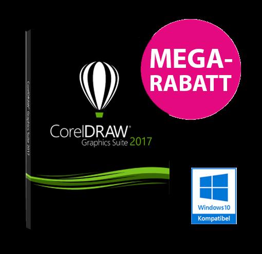 CorelDRAW Graphics Suite 2017 - Sonderaktion für Werbetechniker