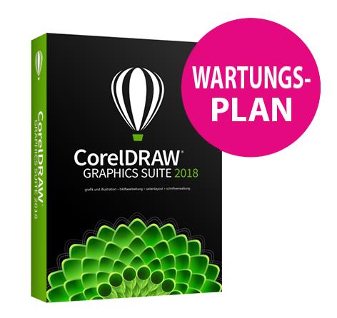 CorelDRAW Graphics Suite 2018 Upgrade-Programm